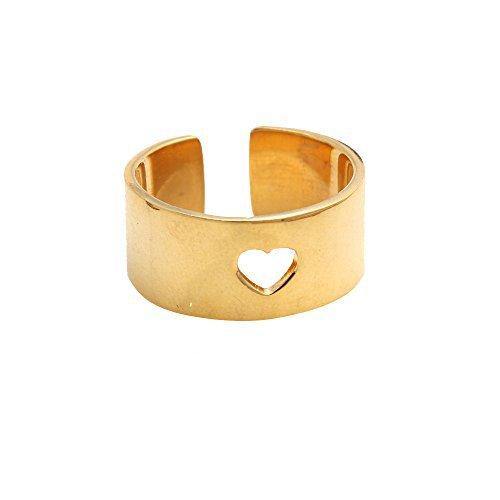 The Sparkle Story Beautiful Gold Plated Ring Stylish (DGP-12070)