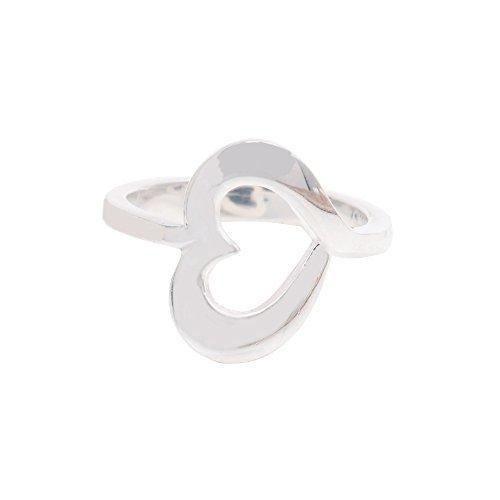 The Sparkle Story Stylish Silver Plated Rings (DSP7-12065)