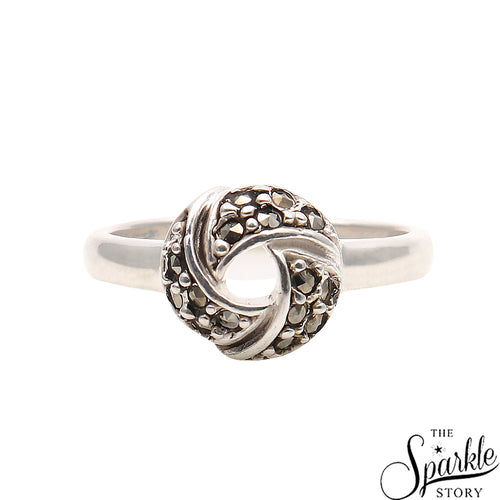 Handmade Sterling Silver Oxidized Ring