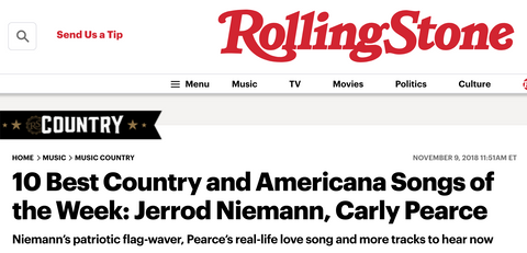 """Rolling Stone Country features """"Slowly Speeding"""" 