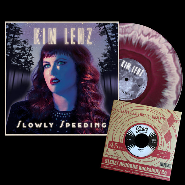 Slowly Speeding Deluxe 2 color vinyl signed/numbered