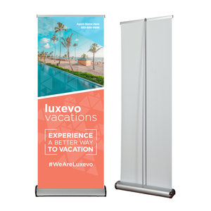 Trade-Show Retractable Banner Stand