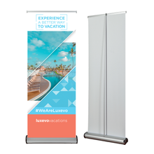 Load image into Gallery viewer, Trade-Show Retractable Banner Stand