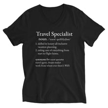 Load image into Gallery viewer, Travel Specialist Unisex V-Neck
