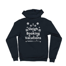 Load image into Gallery viewer, Sleigh Vacations Zip Hoodie