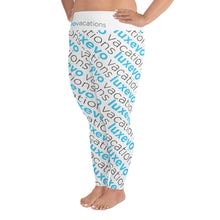 Load image into Gallery viewer, Luxevo Vacations Logo Leggings (Plus Size)