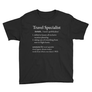 Travel Specialist Youth T-Shirt
