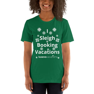 Sleigh Vacations Unisex T-Shirt