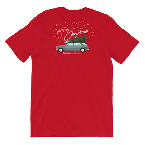 Christmas Car Unisex T-Shirt