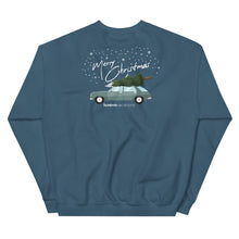 Load image into Gallery viewer, Christmas Car Unisex Sweatshirt
