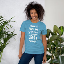 Load image into Gallery viewer, Travel Languages Unisex T-Shirt