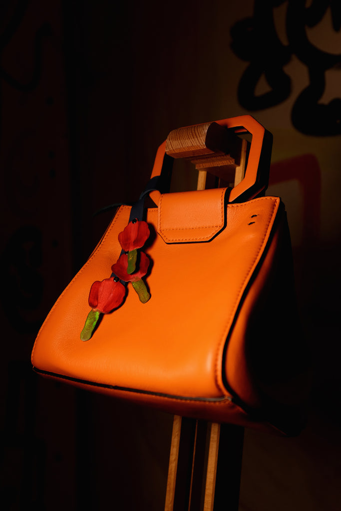 Wafaa Orange minibag