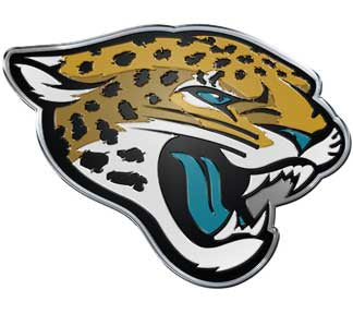 Jaguars 8 inch Vinyl Decal Sticker