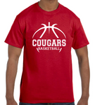 Basketball Team Short Sleeve Custom T-shirt TF0102