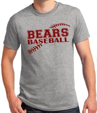 Personalized baseball t-shirt