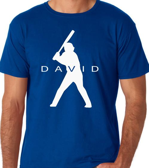 Custom baseball shirt