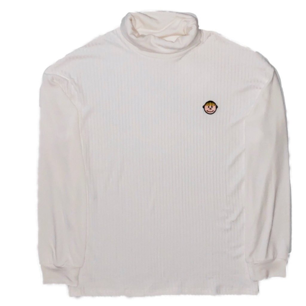 TURTLENECK cream white