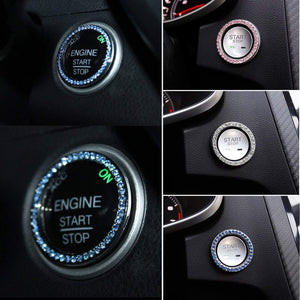 Car Bling Ring Interior Crystal