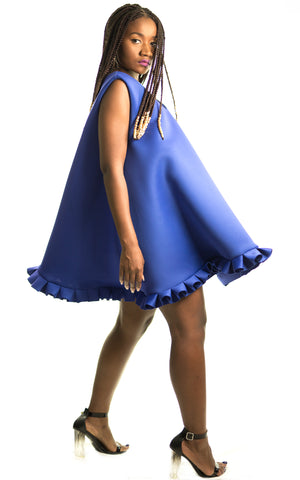 Blue Jelly Dress