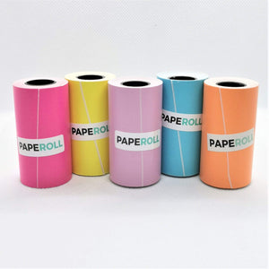 Paperang Printer Paperoll Colors Sticker Paper 1pcs Paperangprint