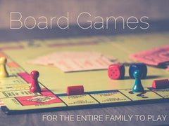 TRAVEL GAMES FOR THE ENTIRE FAMILY
