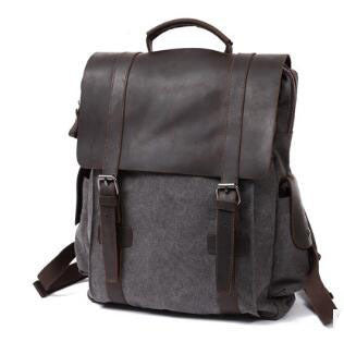 Vintage Canvas Backpack - Mr.Canadian.Traveler