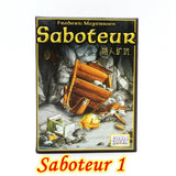 """SABOTEUR"" Board Game (3 Options)"