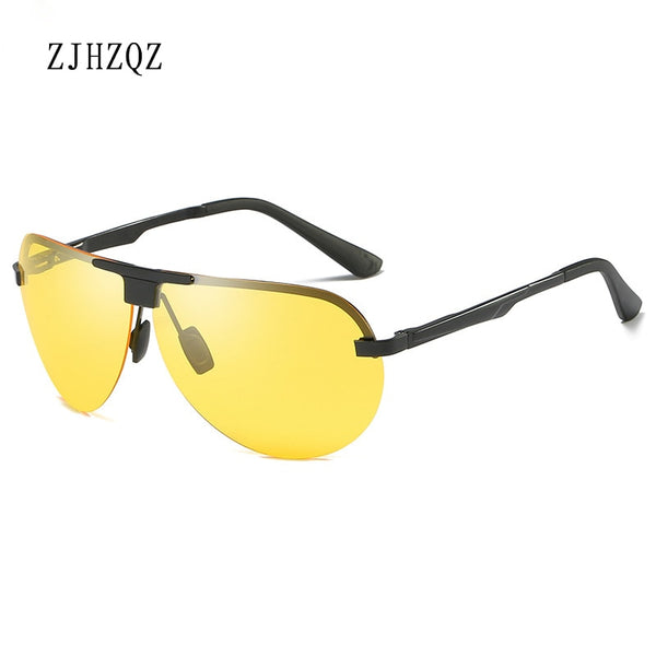 Unisex Polarized Rimless Sunglasses
