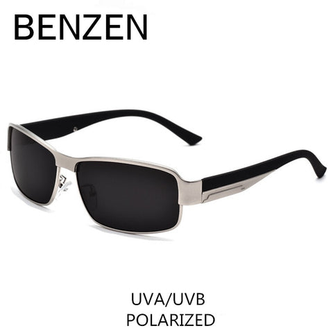 BENZEN Polarized Sunglasses Men  Classic Alloy Male Sun Glasses Driving Glasses Shades With Case 9003 - Mr.Canadian.Traveler