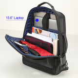 Men's USB External Charge Anti-Theft Waterproof Travel Backpack