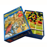 Carcassonne 5 in 1  ,2 in 1 Expand Board Game 2-5 Players For Family/Party/Gift Best Gift Funny Tile-placement Game