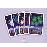 """HANABI"" Puzzle Game For 2-5 Players Family Members"