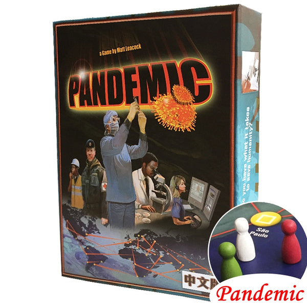 """PANDEMIC"" Board Game Stop The Plague From Taking Over The World"
