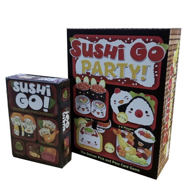 """SUSHI GO"" Party Board Game 2-5 Players For Family"