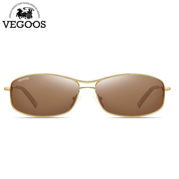 VEGOOS Luxury Brand Designer Polarized Sunglasses for Men Rectangle Driving Fishimg UV Protect Sun Glasses Man Shades Cool #1318