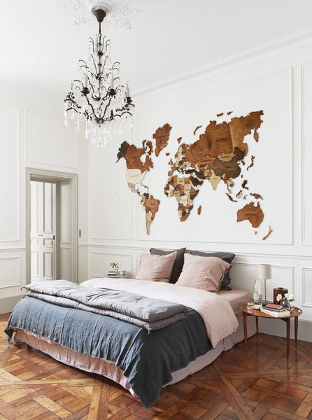 World Map Wood World Map World Map Wall Art Wood Wall Art Wooden World Map Wood Map Travel Map House Design Map Home Decor Valentines Day