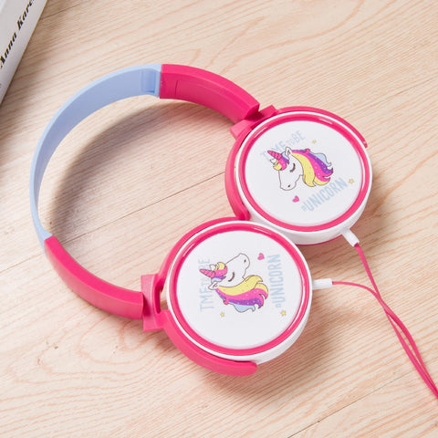 Unicorn Wired Kids Headphones - Mr.Canadian.Traveler