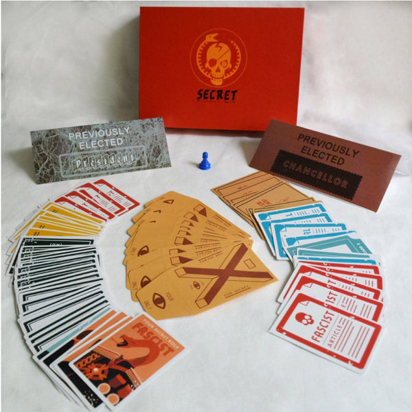 """SECRET HITLER"" Strategy Table Game For The Whole Family (English Version)"
