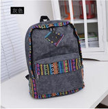 Ladies Canvas Ultralight Backpack For Travel