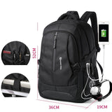 Men's Large Anti-thief Travel Backpack That Is Also A Waterproof Bag