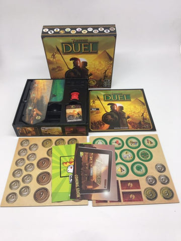 """ 7 WONDERS DUEL"" This Awesome 2 Player Board Game Will Get You Hooked On Board Games - Mr.Canadian.Traveler"