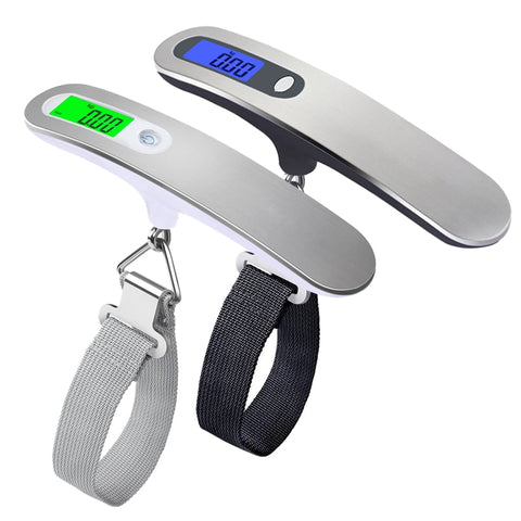 LCD Digital Hand Held Belt Scale For Your Suitcase - Mr.Canadian.Traveler