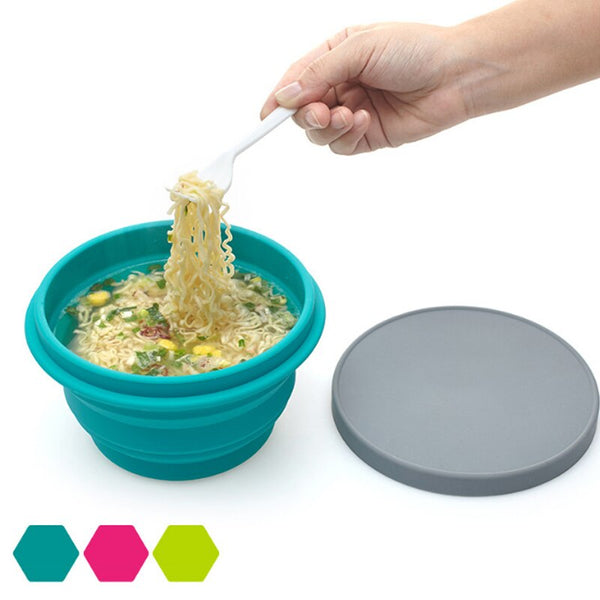 Collapsible Portable Silicone Bowl