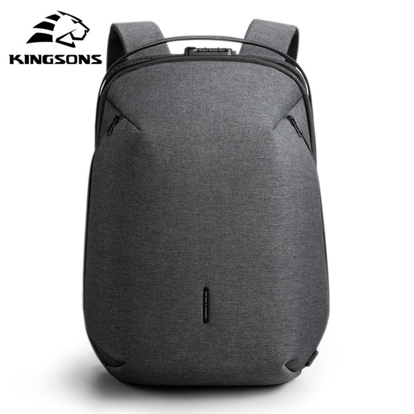High-end Men's Lightweight Backpack With USB Charger