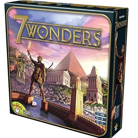 """7 WONDERS""  Awesome Board Game To Play With The Older Kids Or With Fellow Travelers - Mr.Canadian.Traveler"