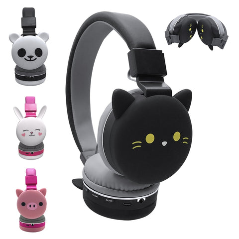 Foldable Bluetooth Cat Headphones - Mr.Canadian.Traveler