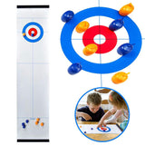Foldable Mini Curling Game For The Whole Family