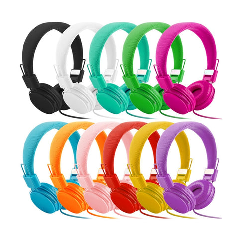Kids Stereo Deep Bass Headphones - Mr.Canadian.Traveler