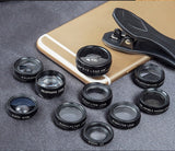 10 in 1 Cell Phone Camera Lens Kit