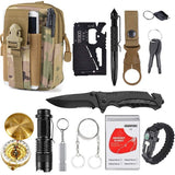 13 in 1 Survival Gear Kit For Survival Travel